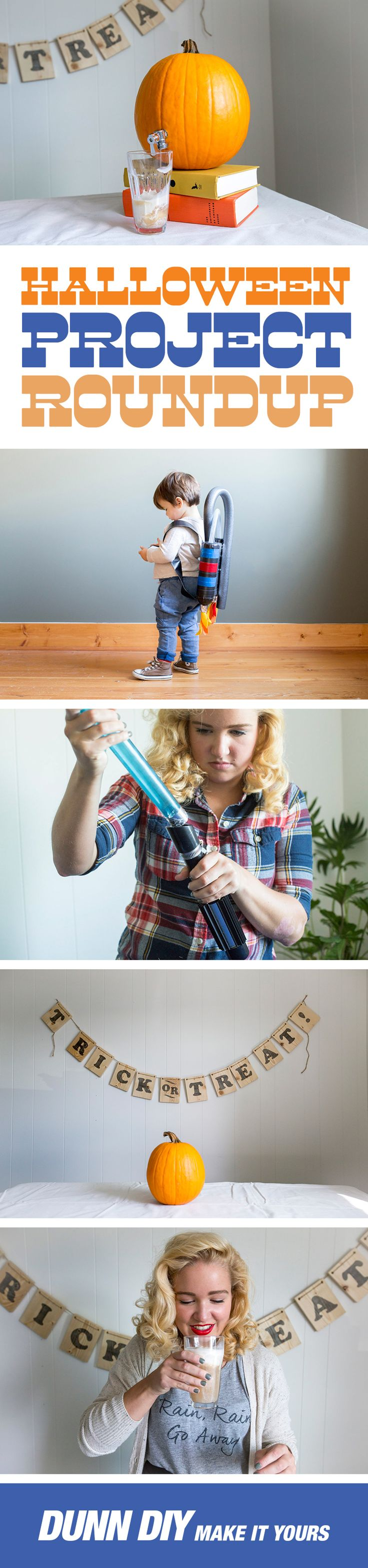 From a DIY lightsaber and astronaut costume to a pumpkin beverage dispenser and a delicious apple