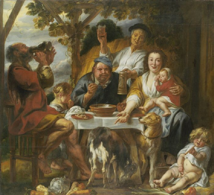 Jacob Jordaens - De papeter