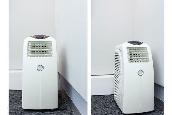 Ar-condicionado portátil pode ser boa opção em dias quentes. Clique na imagem e saiba mais!