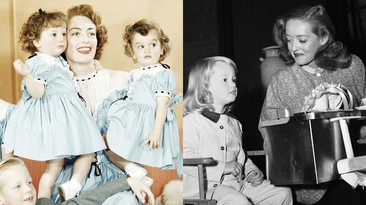 Joan Crawford and Bette Davis may have been better movie stars than they were mothers, but as FX's Feud shows, relationships weren't always so strained between these Oscar winners and their offspring.