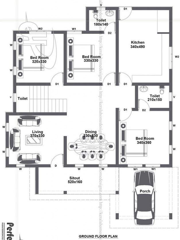 Look At That Impressive Bungalow With Roof Deck Can You Resist This House Cool House Concepts Model House Plan Beautiful House Plans Affordable House Plans