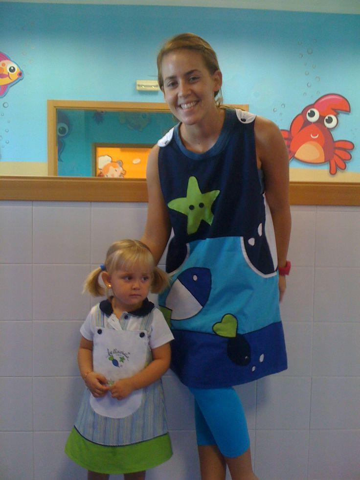 Personalización de uniformes para centros infantiles www.rosareina.com