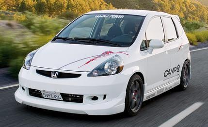 2007 HKS Honda Fit Sport Turbo