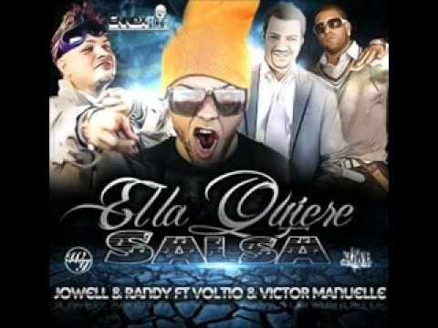 Jowell & Randy Ft Voltio & Victor Manuelle - Ella Lo Que Quiere Es Salsa ★Musica Tropical 2012★