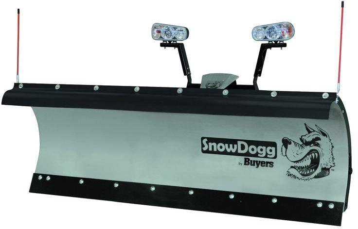 HD75-SnowDogg Snow Plow 7-1/2' HD Straight Blade