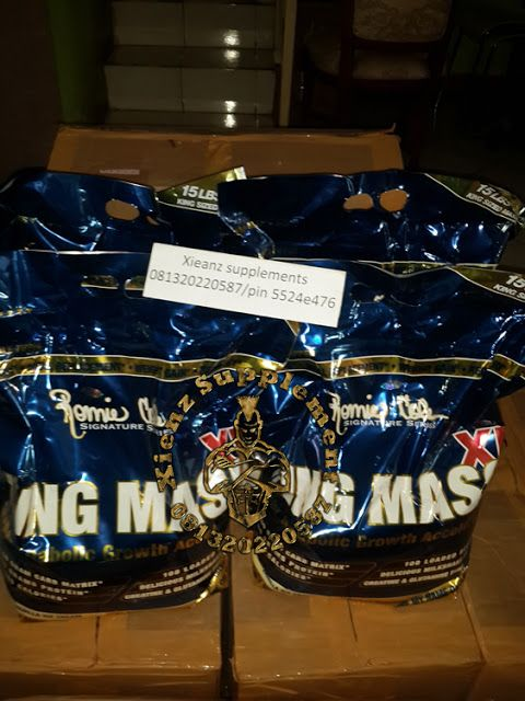 Xienz Supplement: RONNIE COLE KING MASS XL SUPLEMEN FITNES