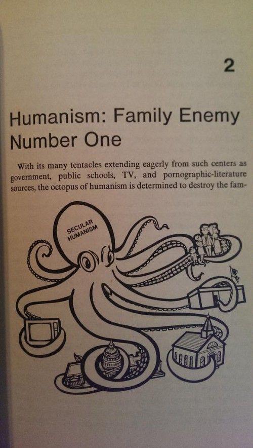 El humanismo secular es el Mal