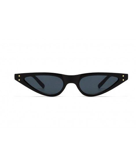 Retro Cat Eye Sunglasses Small Shade Women Eyewear B2290 - 1 Black Smoke -  CV180HUOG7C 67411227a
