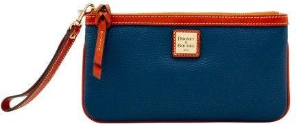 Dooney & Bourke Pebble Grain Clutch Wristlet Wallet