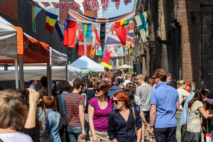 Discover the Maltby Street Market in Bermondsey, one of London's best food markets!