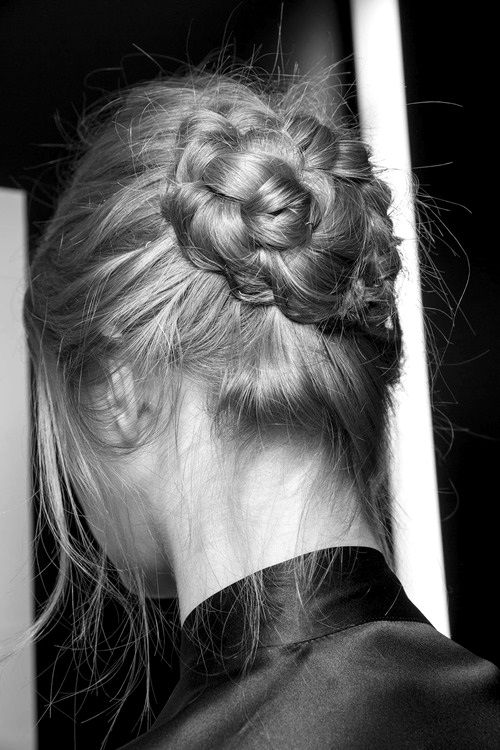 braid bun #hair