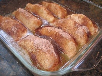 Trisha Yearwood's Apple Dumplings! Oh my pretty sure I would LOVE