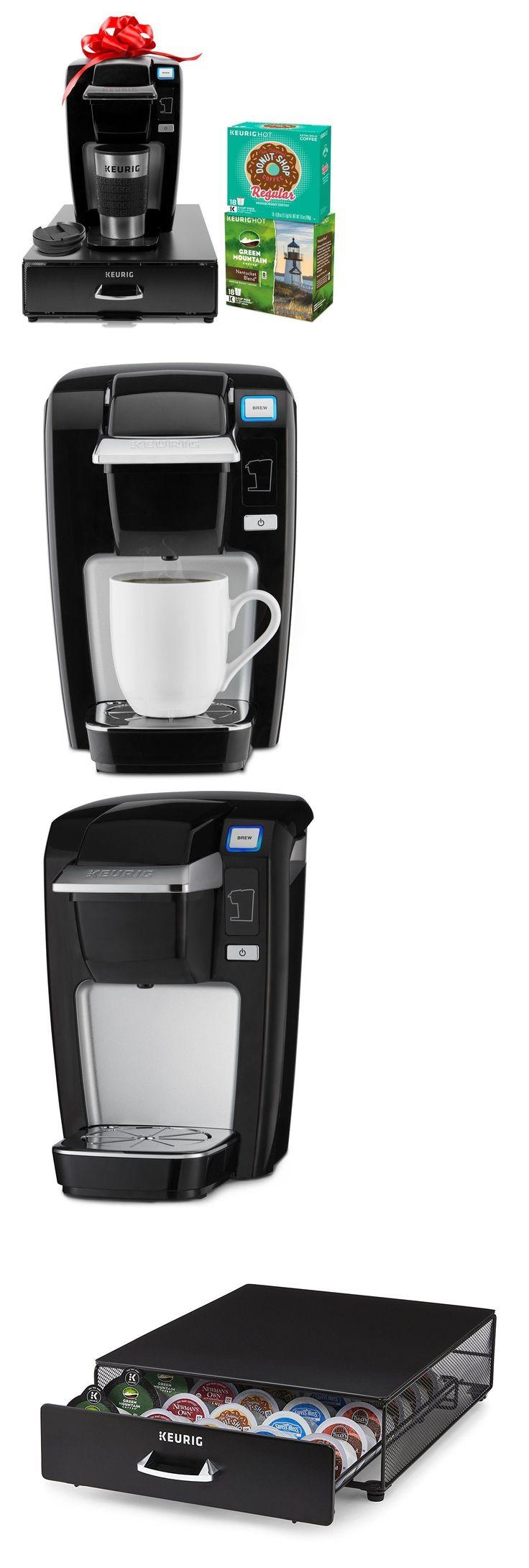 Single Serve Brewers 156775: New! Keurig K15 Single Serve Coffee Maker Bundle With 36 K-Cup Pods, Black -> BUY IT NOW ONLY: $159.95 on eBay!