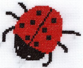 Yiota's Cross Stitch: New ladybug free cross stitch pattern