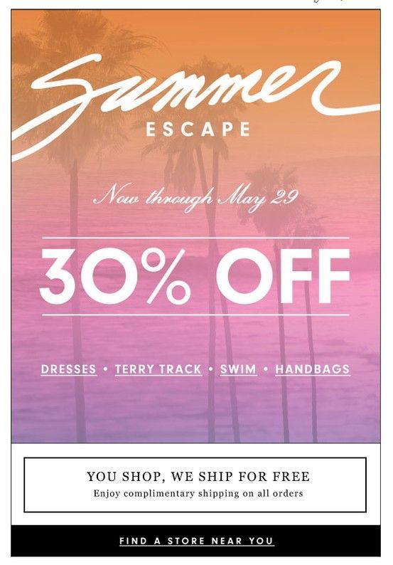 Juicy Summer Sale Email