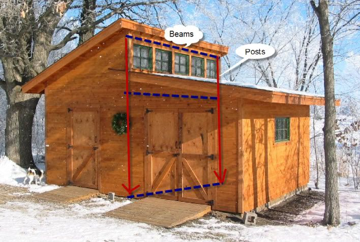 Clerestory house plans the shed you have linked below for Two story barn house plans