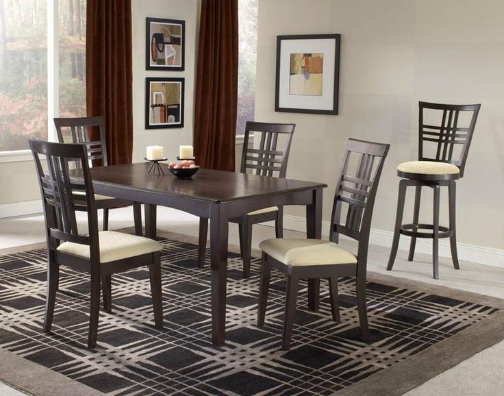 Hillsdale Tiburon 5 Piece Dining Set