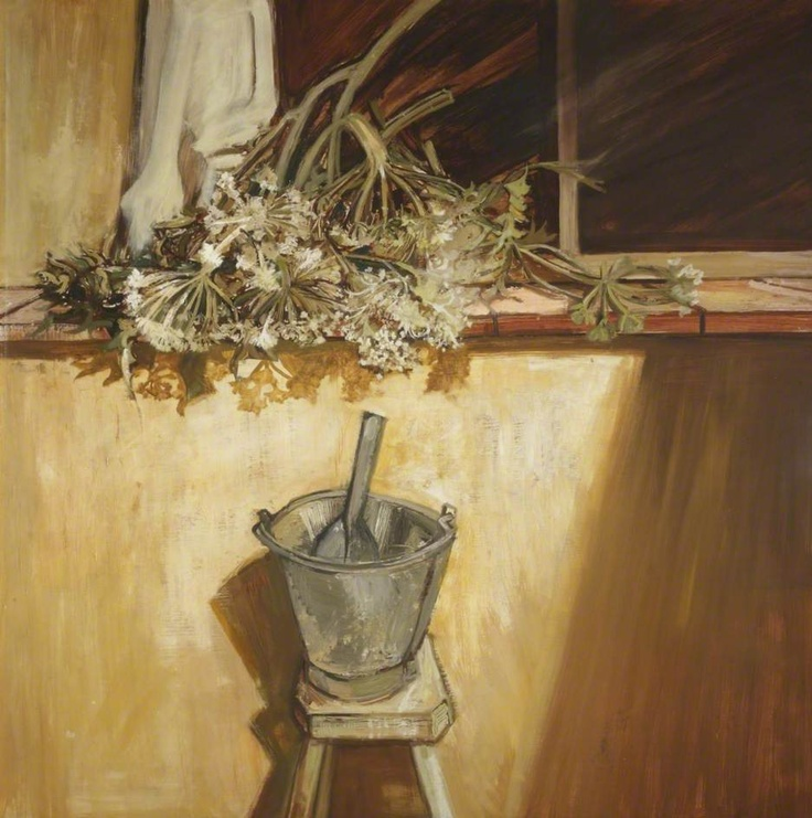Edward Middleditch Cow Parsley 1953 Part Of The Post Wwii Art Scene In Britain Was To Paint