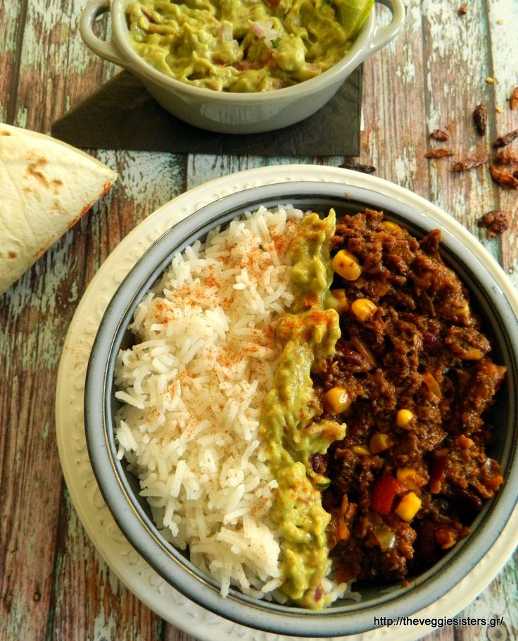 Vegan chili con carne: spicy and yummy!