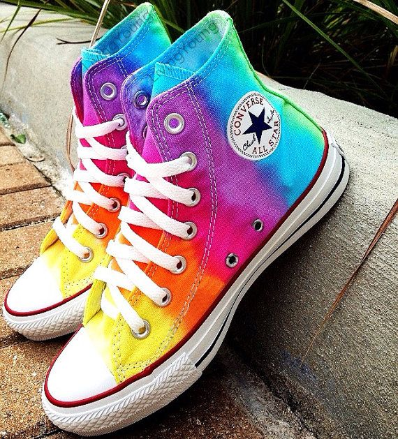 TieDye Custom Converse Sneakers Hand Painted, 100% hand painted- 100% New Shoes  About Cconverse Size: (Unisex Adults) Please choose size by checking our size conversion chart carefully.  If you have a different design idea, please contact me and send me the pictures, i will give you an offer accor...