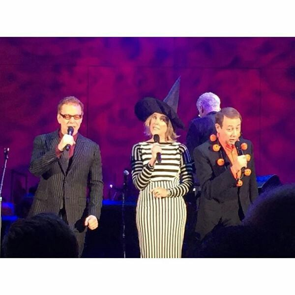 Danny Elfman & The Nightmare Before Christmas cast #dannyelfman #danny #elfman #oingoboingo #oingo #boingo