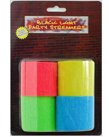 blacklight streamers 7,99