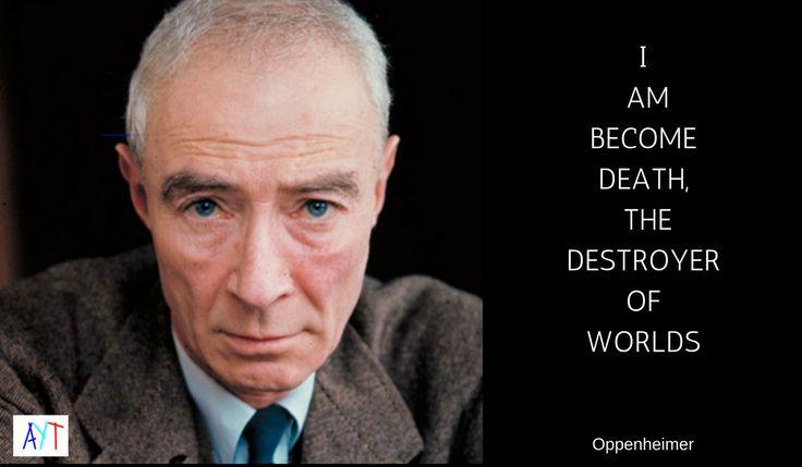 Happy birthday J. Robert Oppenheimer, the man who built the bomb.