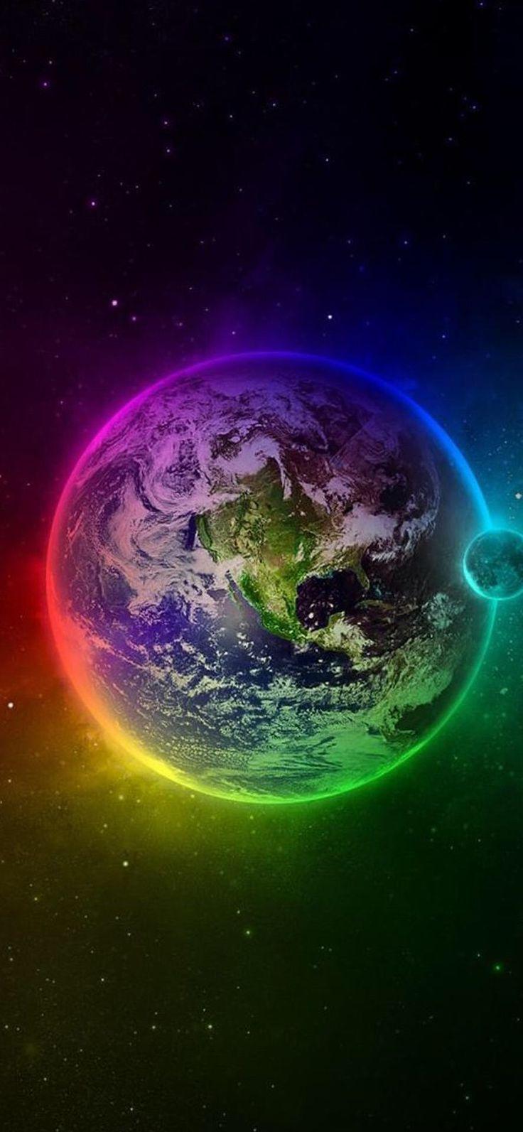 3D Earth iPhone X Wallpaper 537546905528583958 5