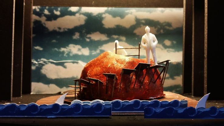 "Set model for South Coast Repertory's ""James and the Giant Peach,"" now playing through Feb. 23. http://scr.org"