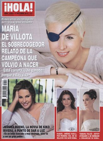 If you needed proof of the courage, conviction and strength of a female athlete look no further than Maria de Villota who survived her near fatal F1 testing accident, albeit with the loss of her right eye: