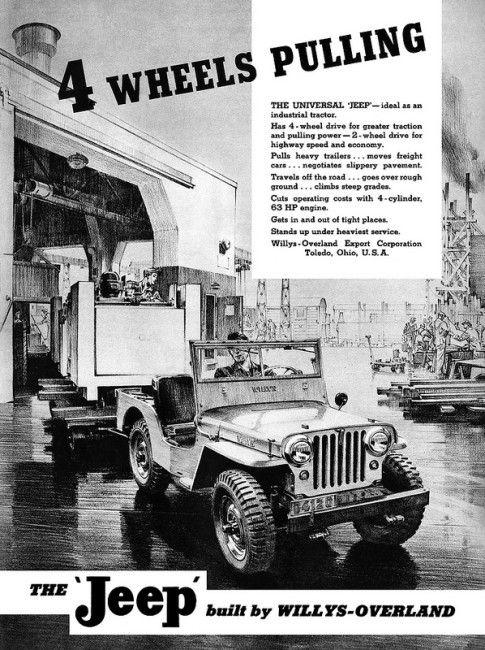 Universal Jeep CJ-2A advertisement