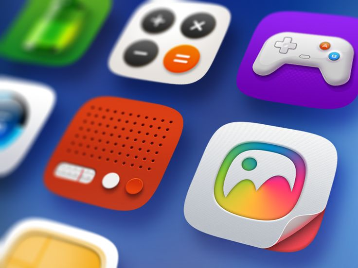 Lewa OS5 icons #icons #icon #iOS #OS5 #lewa #design #icondesign #dribbble #behance #ramotion #inspiration
