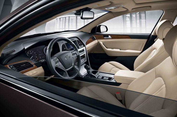 Looks Interior From 2015 Hyundai Sonata