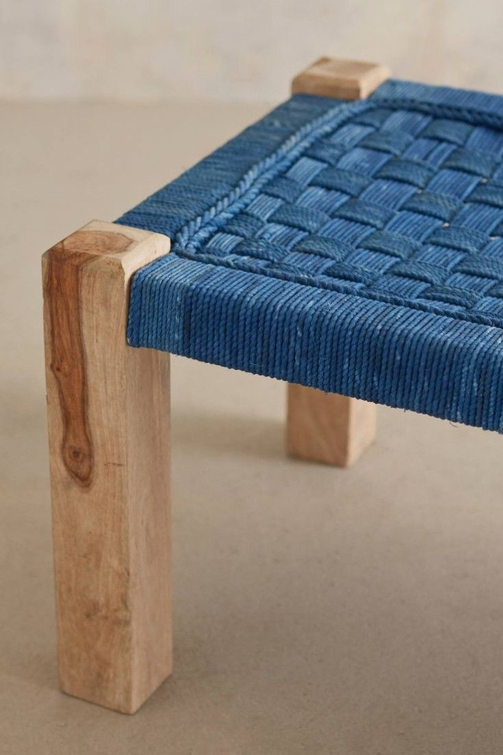 Lost & Found for Anthropologie Woven Bench