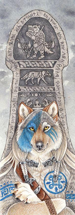 Warriors Vigil by thornwolf.deviantart.com on @deviantART --------------(Viking Blog: elDrakkar.blogspot.com)