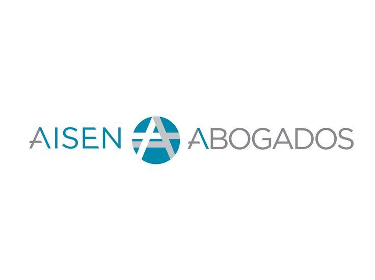 Logo design for Aisén Abogados.