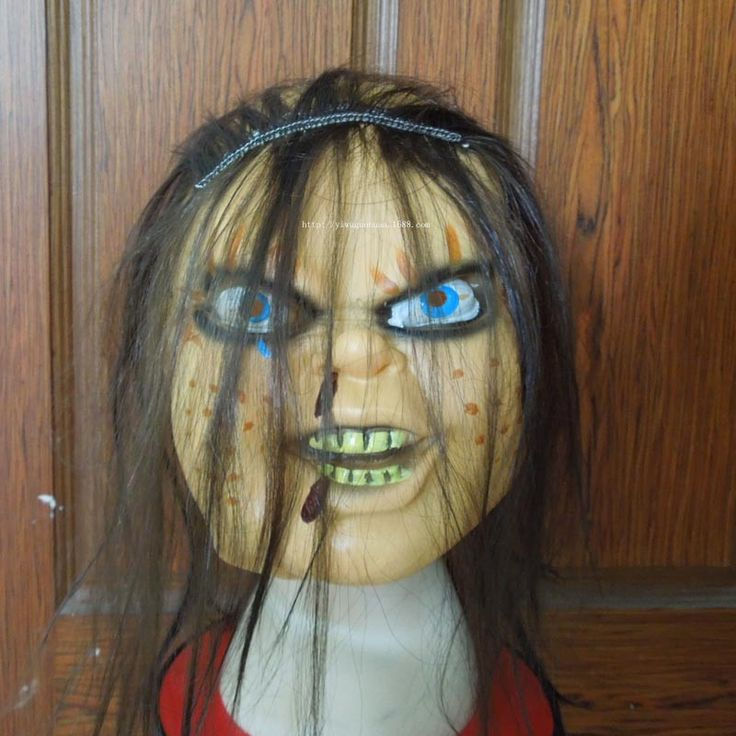 Halloween Ghost Face Mask Horror Chucky Mask Wholesale H-039