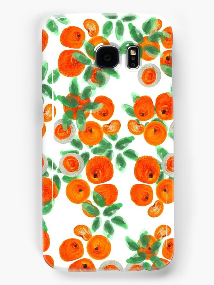 Fresh Spring pattern! Watercolor on paper @redbubble @anoellejay • Also buy this artwork on phone cases, apparel, stickers, and more.