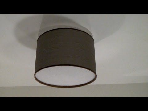 Click here for a complete resource guide for this episode:   http://www.engineeryourspace.com/Engineer_Your_Space/DIY_Drum_Shade_Ceiling_Fixture.html    Do you like everything about your apartment, except for those unsightly ceiling light fixture? No need to replace it, just cover it up with a DIY drum shade - it will instantly give your room a mor...