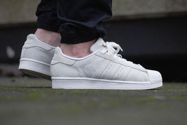 adidas originals superstar rt - baskets basses - chalk white