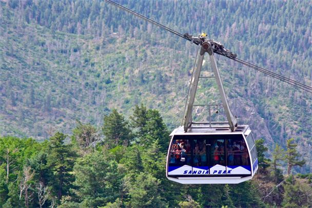 Sandia Peak Ski & Tramway - Sandia Peak Tramway