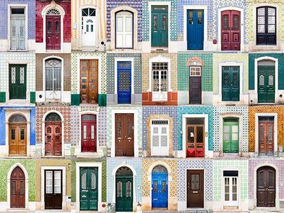 ポルトガルのドア