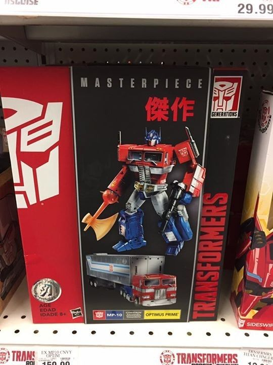 MP10 Optimus Prime Toys R Us Exclusive First US In Store Sighting
