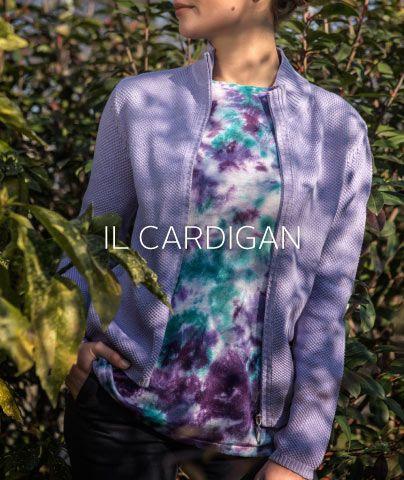 #cardigan in #cotone #fullzip #granadiriso #moss #stitch #pe15 #ss15