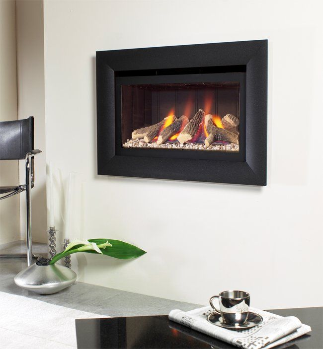 Fire In Wall Part - 19: Jazz Balanced Flue Hole In The Wall Gas Fire, From Flavel