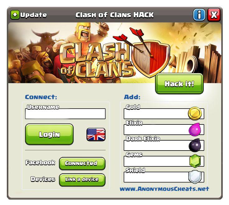 www clash of clans free gems hack