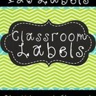 This product includes 120 Chalkboard-Themed Classroom Labels.   These labels will help you organize supplies around the classroom so that they are ...