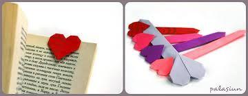 Картинки по запросу оригами сердце закладка