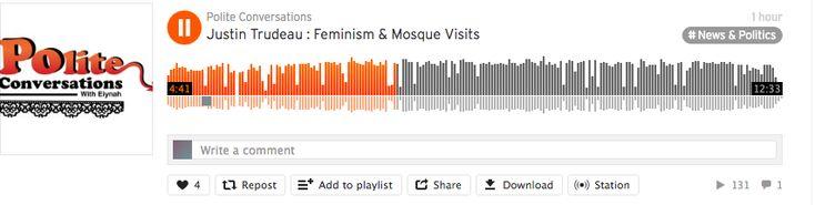 Justin Trudeau visits gender-segregated mosque, Eiynah calls him out