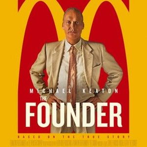 Directed by John Lee Hancock (SAVING MR. BANKS), THE FOUNDER features the true story of how Ray Kroc (Michael Keaton), a struggling salesman from Illinois, met Mac and Dick McDonald, who were running a burger operation in 1950s Southern California. Kroc was impressed by the brothers' speedy system of making the food and saw franchise potential. Writer Robert Siegel (THE WRESTLER) details how Kroc maneuvered himself into a position to be able to pull the company from the brothers and creat...